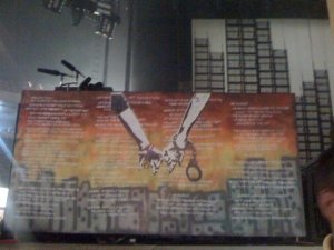 At the Barrier - Green Day - 21st Century Breakdown Tour - Albany, July 25, 2009