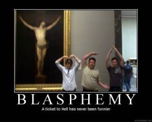 Blasphemy - A Ticket to Hell Has Never Been Funnier