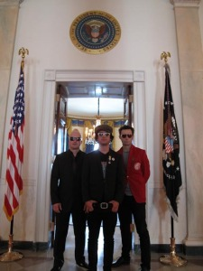 Green Day at the White House - Photo by Chris Dugan from Greenday.com