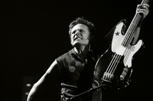 Mike and the Bass - Mike Dirnt, Green Day, Las Vegas. Photo by Ryan O. from the Green Day Fan Flickr Group