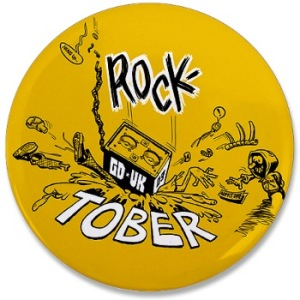 GD UK ROCKTOBER Baby! - Logo by Jason Chandler