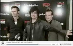 Green Day Interview with KTUV on American Idiot