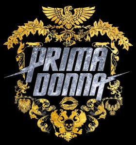 Prima Donna Logo in Silver and Gold