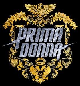 Prima Donna Logo in Silver and Gold